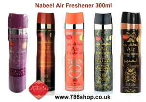 Genuine Nabeel Air Freshener Nabeel, Touch Me, Black Arabian Incense Spray 300ml